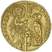 1 Zecchino - Antonio Venier (1382-1400) – avers