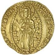 1 Zecchino - Antonio Venier (1382-1400) – revers
