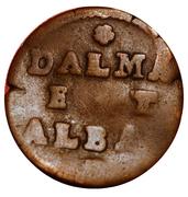 1 Soldo for Dalmatia and Albania – revers