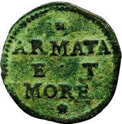 1 soldo (Armata and Morea) – revers