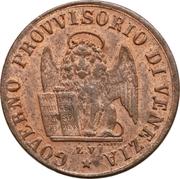 1 centesimo (Révolution) – avers