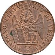 3 centesimi (révolution) – avers