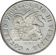 15 centesimi – avers