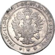 1 Lira - Franz II – revers