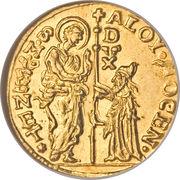 1 zecchino - Alvise Mocenigo IV – avers