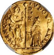 1 Zecchino (Ludovico Manin) – avers