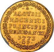 1 ossela - Alvise Nocenigo IV – revers