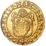 1 scudo D'oro - Francesco Loredan – avers