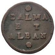 2 Soldi ( Dalmatia et Albania ) Type S.MARC.VEN – revers