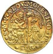 6 Zecchini - Alvise Mocenigo IV – revers