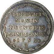 1 osella - Lodovico Manin – revers