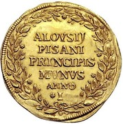 1 osella - Alvise Pisani – revers