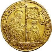Osella of 5 Zecchini - Alvise III Mocenigo – avers
