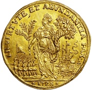 Osella of 5 Zecchini - Alvise III Mocenigo – revers