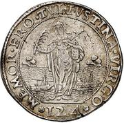 1 ducato - Pasquale Cicogna – revers