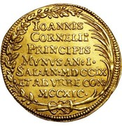 1 osella - Giovanni Corner II – revers