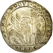1 ducatone - Lodovico Manin – avers