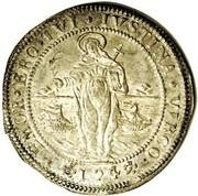 1 ducatone - Lodovico Manin – revers
