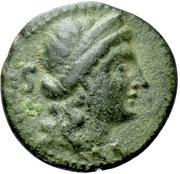 Bronze Æ20 (Vibo Valentia) – avers