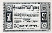 50 Heller (Viechtwang) -  avers