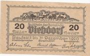 20 Heller (Viehdorf) -  revers