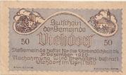 50 Heller (Viehdorf) – avers