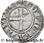 Denier - Jean II (dauphin de Viennois - comte d'Albon) – revers