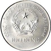 100 dong (Bateau-Dragon) – avers