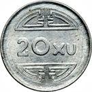 20 xu (Viêt Nam Nord) – revers