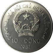 10 dong (orang-outan) – avers