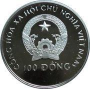 100 dong (NS Savannah) – avers