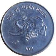 10 dong (éléphant) – revers