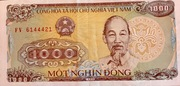 1000 dồng -  avers