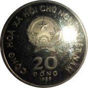 20 dong (Centenaire de la naissance d'Hô Chi Minh) – avers