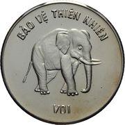 100 dong (éléphant) – revers
