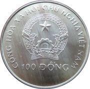 100 dong (Coupe du monde de football États-Unis 1994) – avers