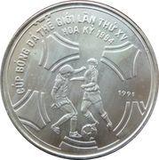 100 dong (Coupe du monde de football États-Unis 1994) – revers