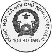 100 dong (edaphosarus) – avers
