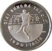 100 dong (Coupe du monde de football Italie 1990) – revers