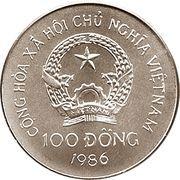 100 dong (100 ans de l'automobile) – avers