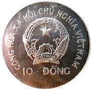 10 dong (Barge royale Subanahongsa) – avers