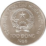 100 dong (jonque vietnamienne) – avers