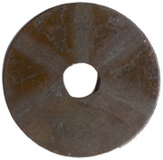 1 Văn - Thiên Thánh (rébellion de This Su, Nguyen en style sceau, grand module) – revers