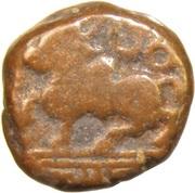 1 Kasu - Deva Raya II (Vijaynagar Kingdom) – avers