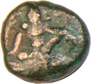 1 Kasu - Sadashivaraya (Vijayanagar Empire) – avers