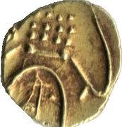 1 Fanam - Madakari Nayaka II (1652–1674) – avers