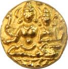 ½ Pagoda - Hari Hara II (Vijaynagar Empire) – avers