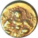 ½ Pagoda - Krishnadeva Raya – avers