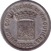 25 Centimes - Union commerciale de Vimoutiers [61] – avers