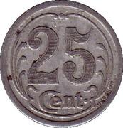 25 Centimes - Union commerciale de Vimoutiers [61] – revers